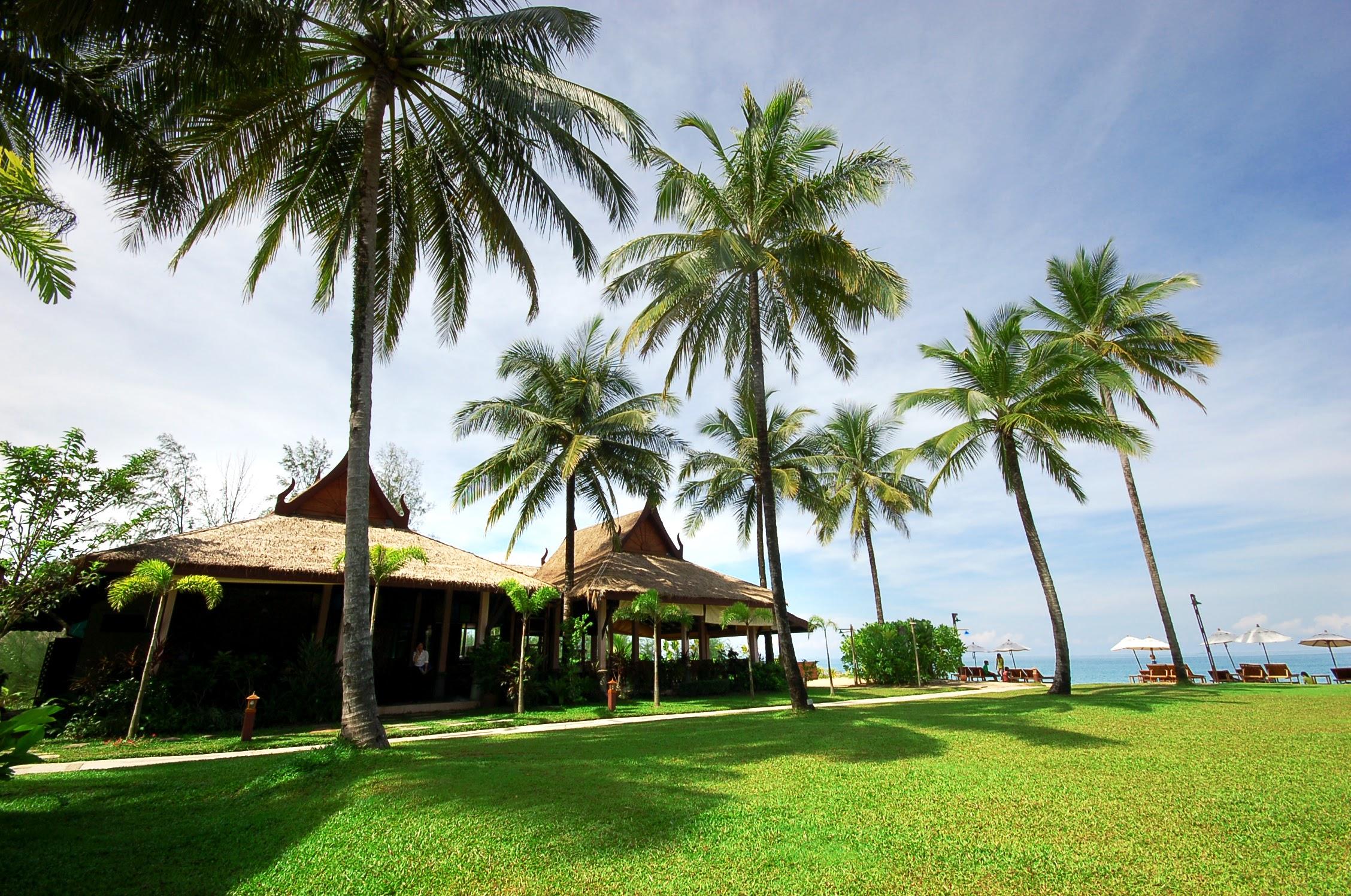 rest beach view