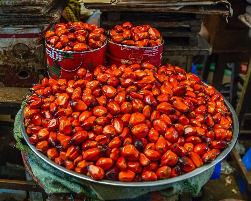 palm oil, palm kernels