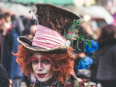 Air Your Inner Hatters; Let The Child Out. Embrace Your Colours. Be As Mad As The Hatter!