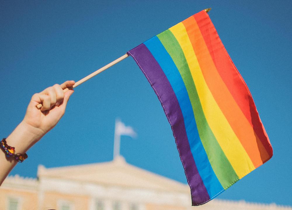 The Gay Pride Flag