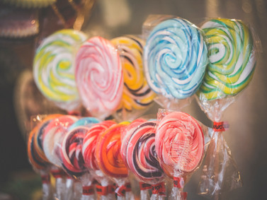 Care For Some Candies or Fancy Lollipops
