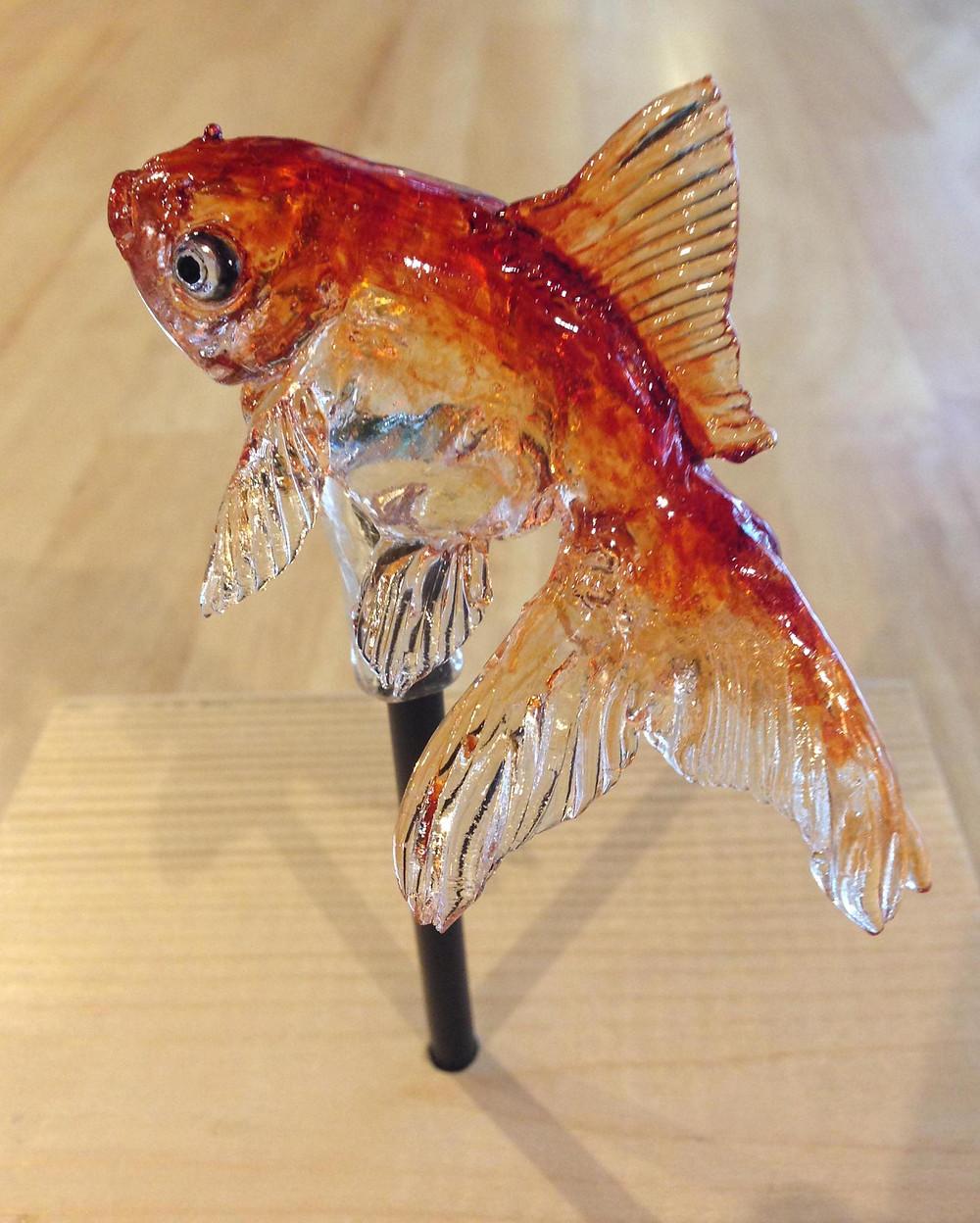 Amezaiku Goldfish by Shinri Tezuka