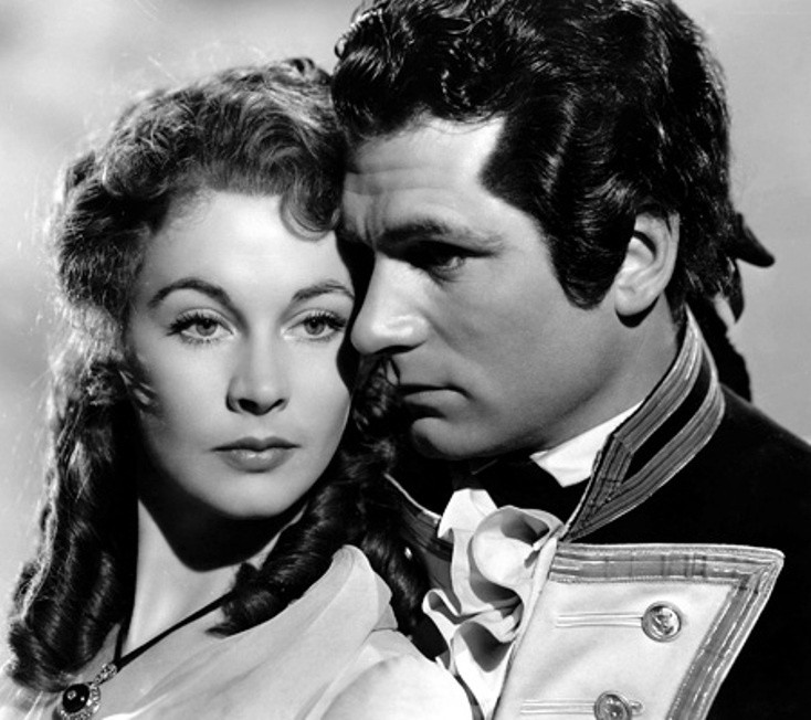 Leigh and Olivier in The Hamilton Women (1941).