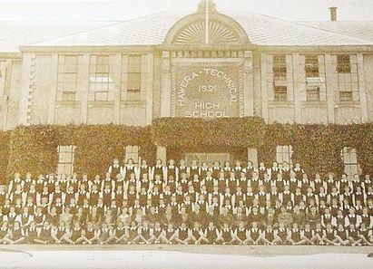Hawera High School Girls 1945