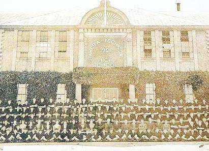 Hawera High School Boys 1945