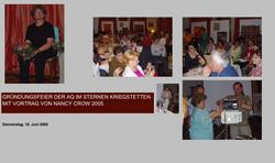 Gründungsfeier mit Nancy Crow