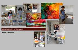 Färbeworkshop bei Regula Affolter