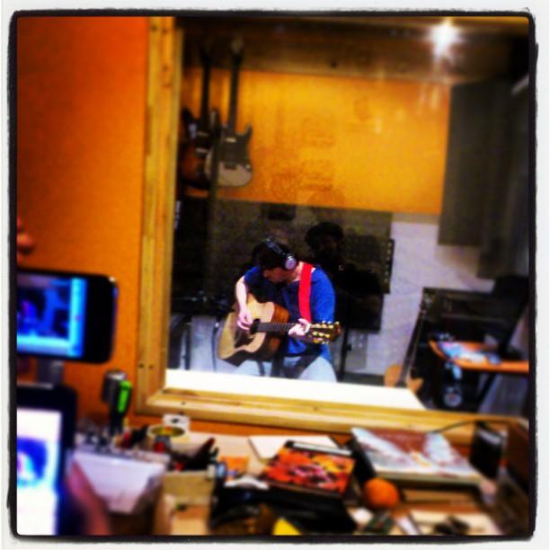 הקלטת גיטרה אקוסטית