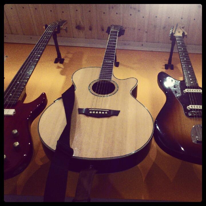 חלק מהגיטרות