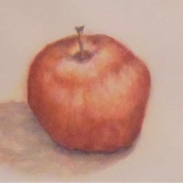 """""""Layering"""" watercolor by Monita Rajbanshi $225"""