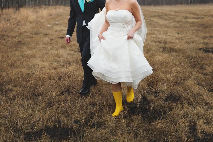 Katie + Cory | YEG Country Lodge Wedding