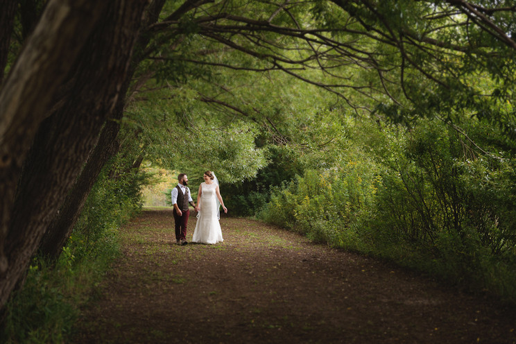 Meaghan + Jeffrey   Blue Meadows Wedding