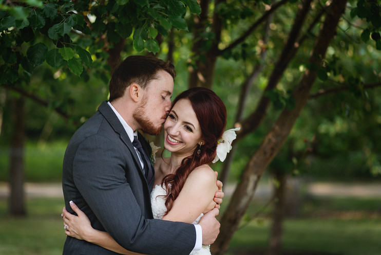 Erica + Kevin: An Intimate Garden Wedding