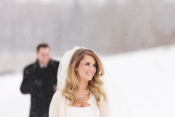 Courtney + Andrew | A Dreamy Winter Wedding
