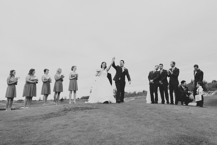 The Behiels | Quarry Golf Club Wedding