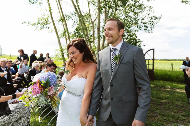 Courtney + Dave | Family Acreage Wedding