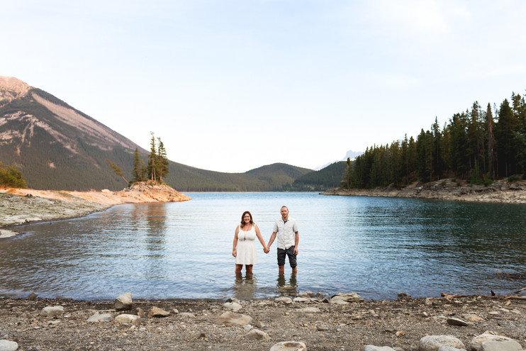 Courtney + Dave | A Mountain Engagement