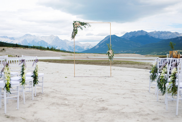 Amanda + Erik | An Intimate Mountain Wedding in Nordegg, AB.
