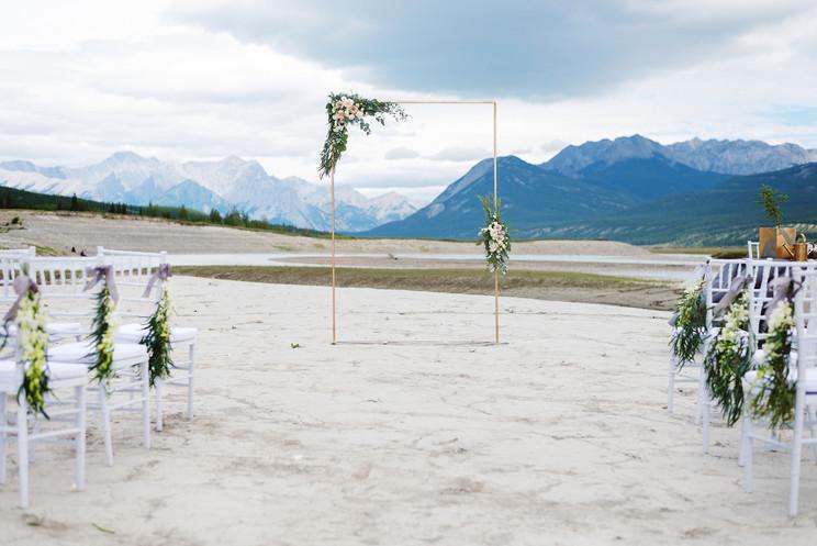 Amanda + Erik | An Intimate Mountain Wedding in Nordegg, AB.