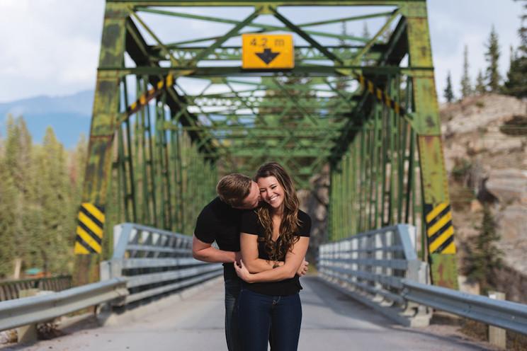 Jasper Mountain Engagement | Hayley + Ian