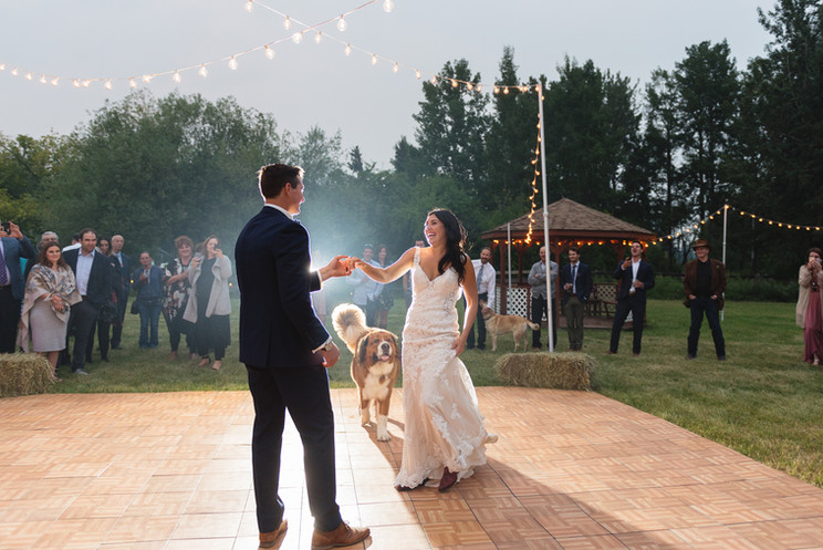 Kaitlyn & Matt | A Rocky Mountain House Acreage Wedding