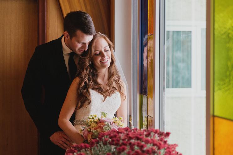 Cassie + Andrew | A Winter Wonderland Wedding