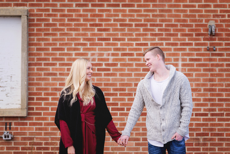 Jordan + Mike | YEG Muttart Session