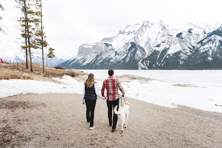 Tara + Tommy | Banff Engagement Session