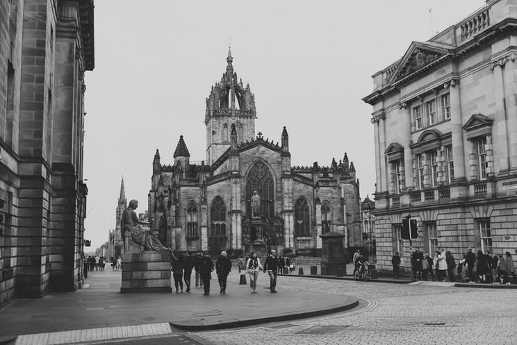 Jeff + Lauren Go To The UK | Part Six | Edinburgh