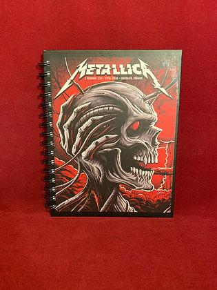 Cuaderno Metallica