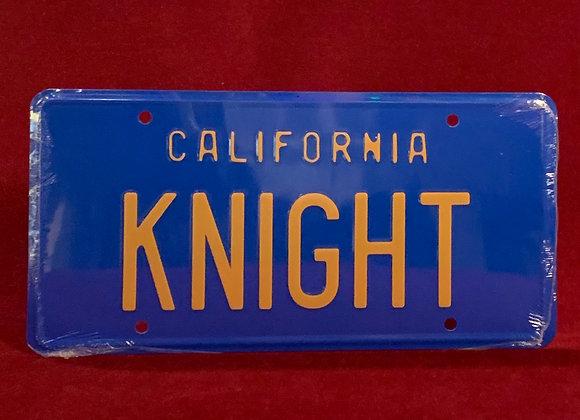 Placa Knight (Auto fantástico)