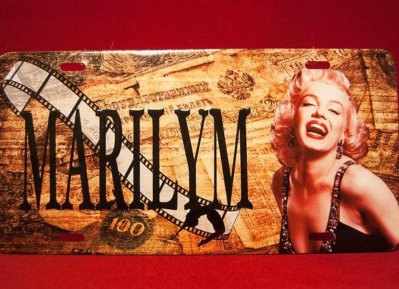 Placa Marilyn