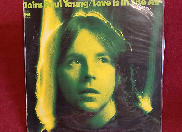 Vinilo Jonh Paul Young Love is in the Air