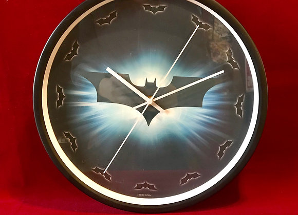 Reloj pared Batman 30 cm diametro
