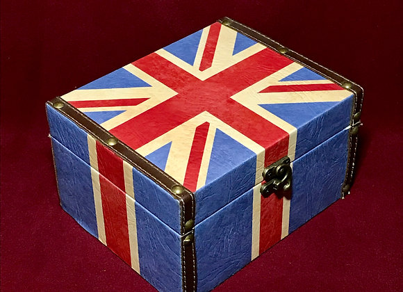 Caja Londres grande madera