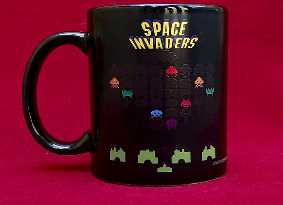 Mug mágico space invaders