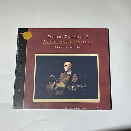 Cd Devin Townsend Live in Leeds
