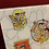 Thumbnail: Tabla de picado los Picapiedra 20 cm x 28 cm vidrio templado