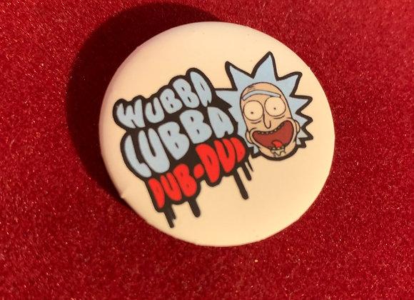 Botón Rick and Morty