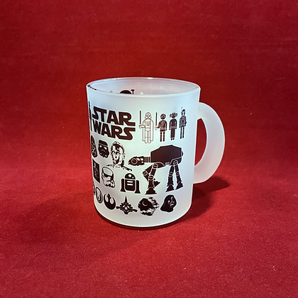 Mug Cristal Star Wars 11 onz