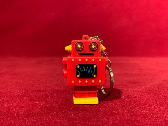 Llavero Robot luz y sonido