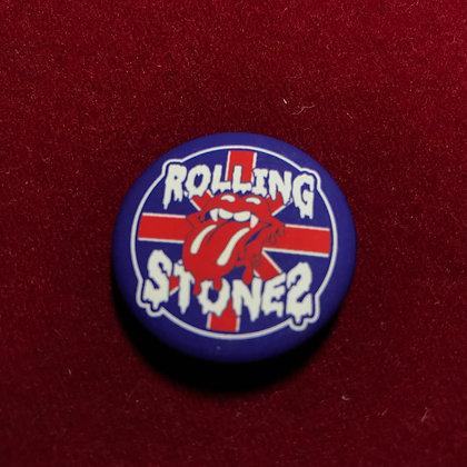 Botón Rolling Stones