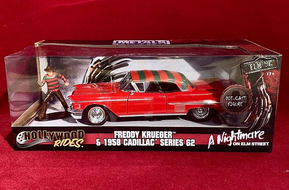 Carro Freddy  Krueger escala 1/24