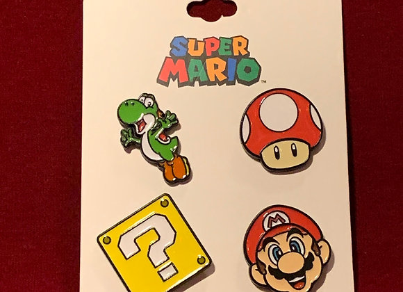 Set pines x 4 Super Mario
