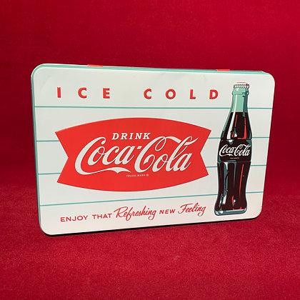 Caja metal Coca Cola