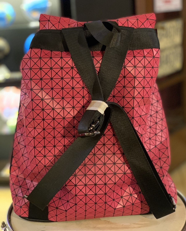 Thumbnail: Morral origami rosado