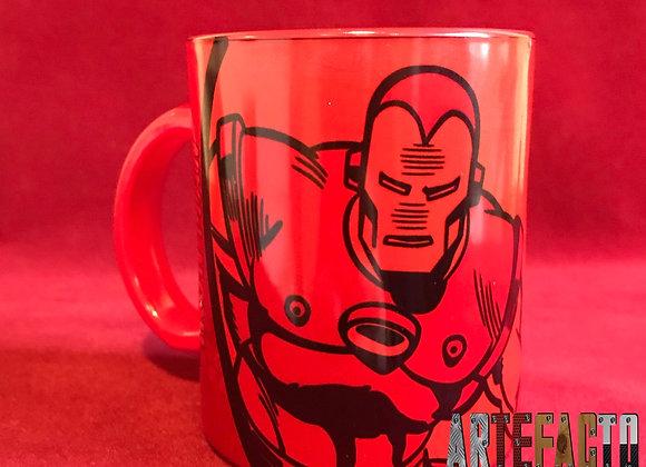 Mug Mágico Iron man