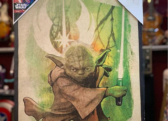 Cuadro Yoda ( Star Wars)