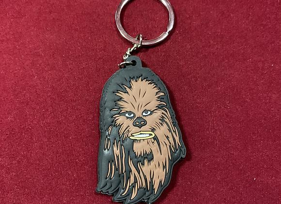 Llavero Chewbacca Goma Star Wars