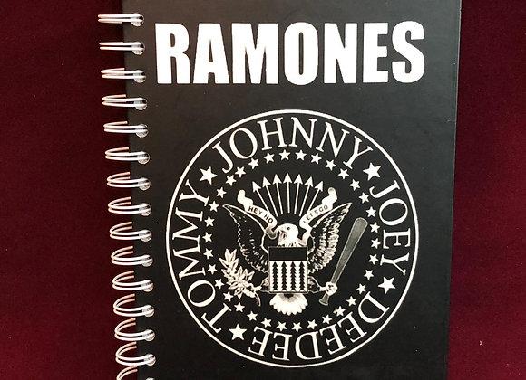 Cuaderno Ramones